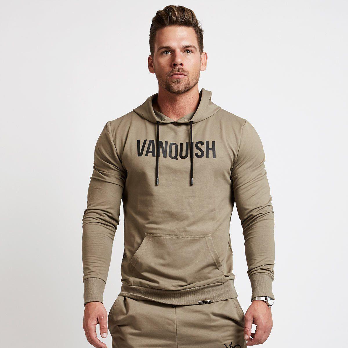 4af5cf11dd1494 Vanquish Khaki Exodus Unity Pullover Hoodie from Vanquish Fitness. Vanquish  Khaki Exodus Unity Pullover Hoodie from Vanquish Fitness Men s ...