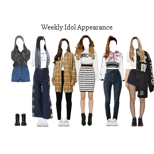 Fashion Set Weekly Idol Zena Created Via Kpop Fashion Kpop Outfits Stage Outfits