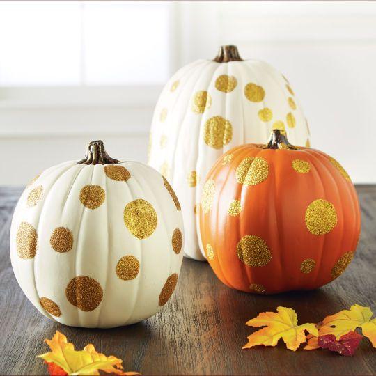 Mini Metallic Ceramic Pumpkin Decorations 4 25 In Pumpkin Decorating Pumpkin Fall Decor