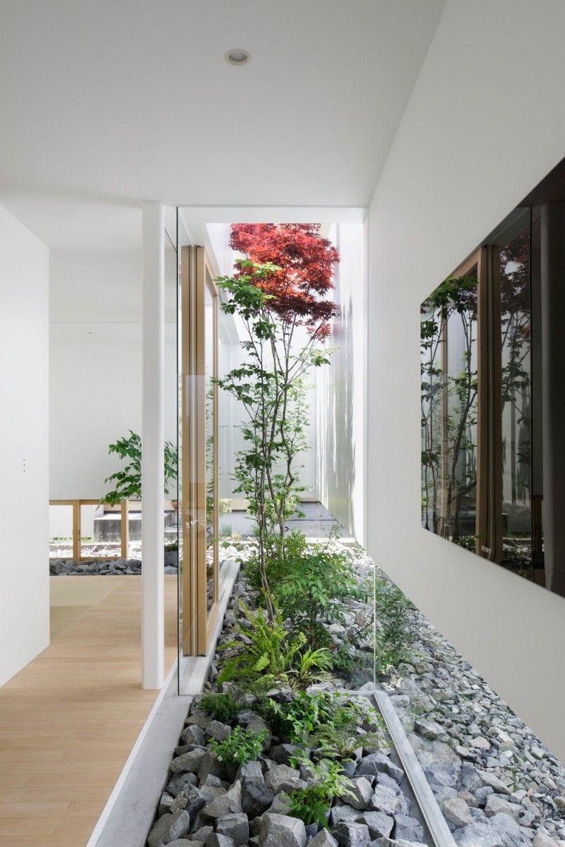 Delightful Indoor Garden Design Ideas Part - 11: Green Edge House Fujieda, Japan · Indoor GardenIndoor ...