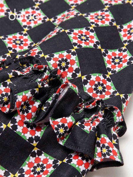 Multicolor Printed A-line Casual Mini Skirt