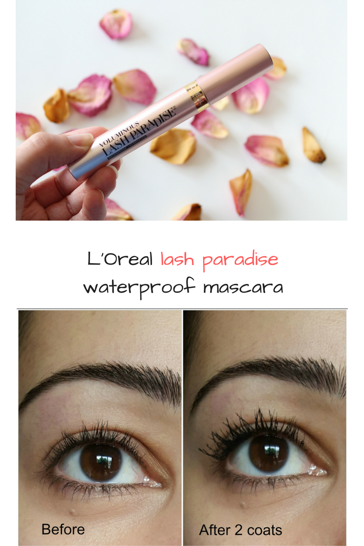 the l'oreal voluminous lash paradise review !
