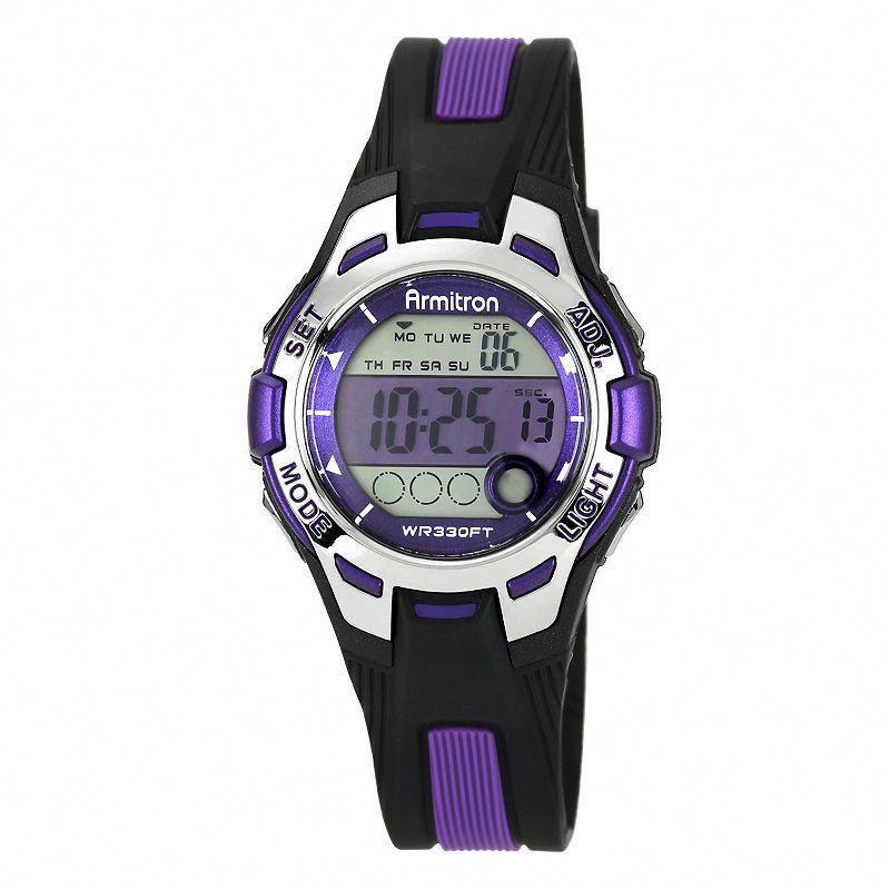 Armitron Pro Sport Womens Chronograph MultiFunction