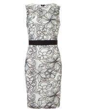 Lipsy V I P Embroidered Shift Dress - $133 USD - rehearsal?