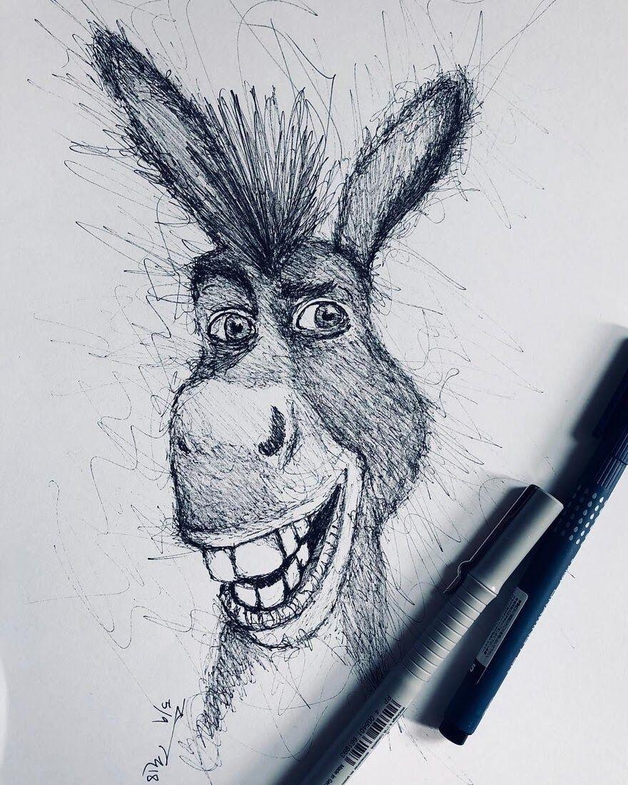 Взять на карандаш смешные картинки