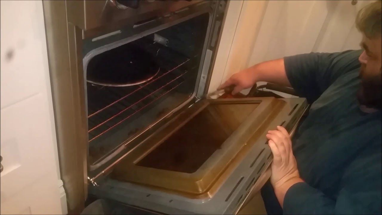Best of kitchenaid superba double oven door removal and