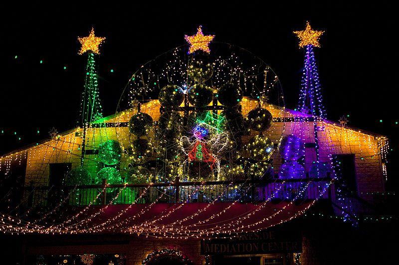 christmas lights | Christmas Lights Holiday show at Mozart's in Austin,  Texas - Christmas Lights Christmas Lights Holiday Show At Mozart's In
