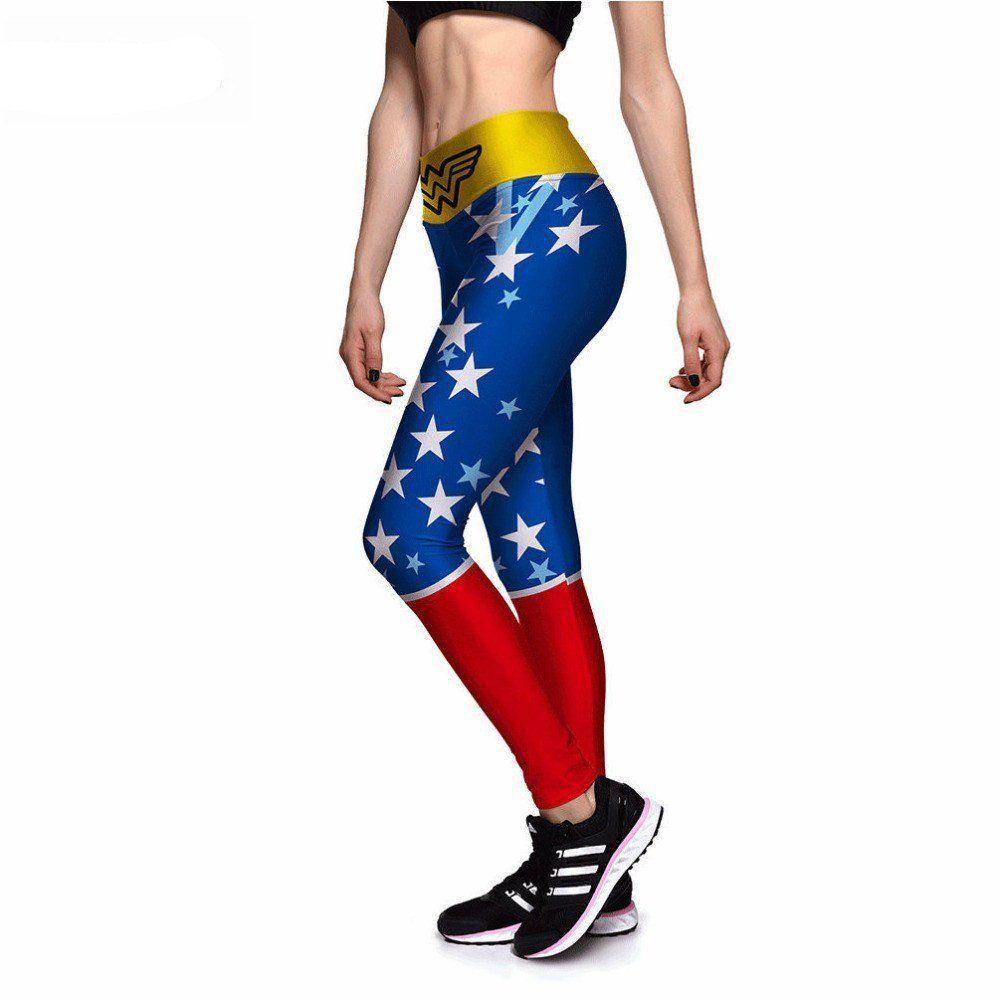b79e0e61dd American Superwoman Athletic Leggings - Leggy Me Leggings | Athletic ...