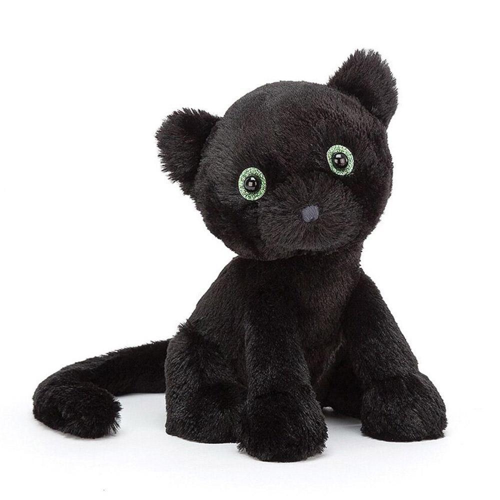 Jellycat Starry Eyed Black Cat In 2020 Jellycat Kitten Little Kittens