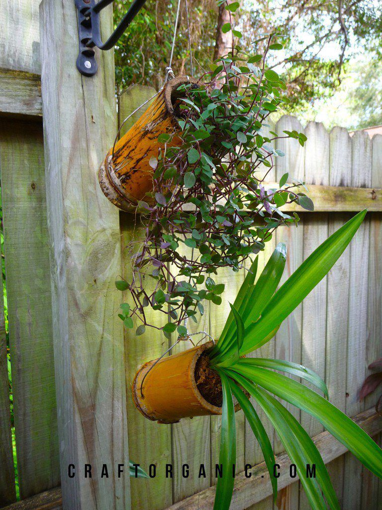 18 Clever Bamboo Crafts | Design | Garden stuff | Bamboo planter