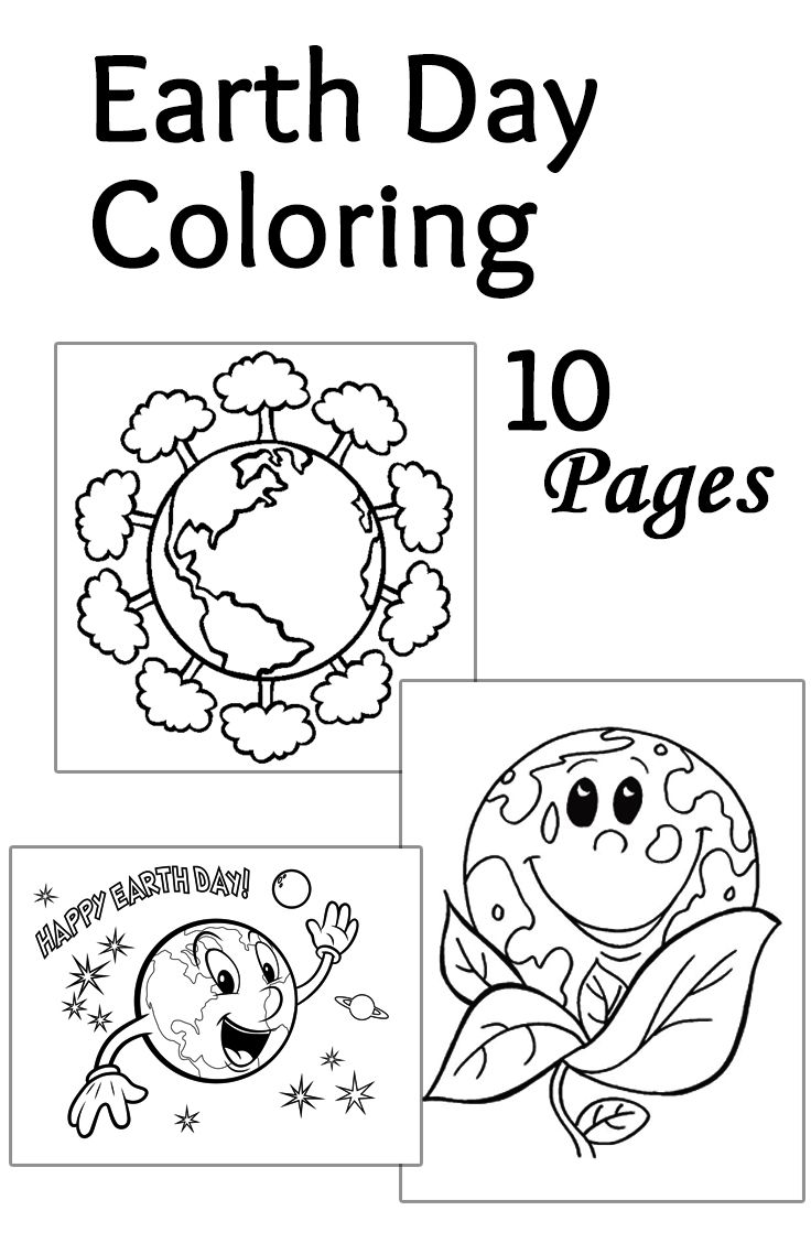 Top 20 Free Printable Earth Day Coloring Pages Online | Pinterest ...