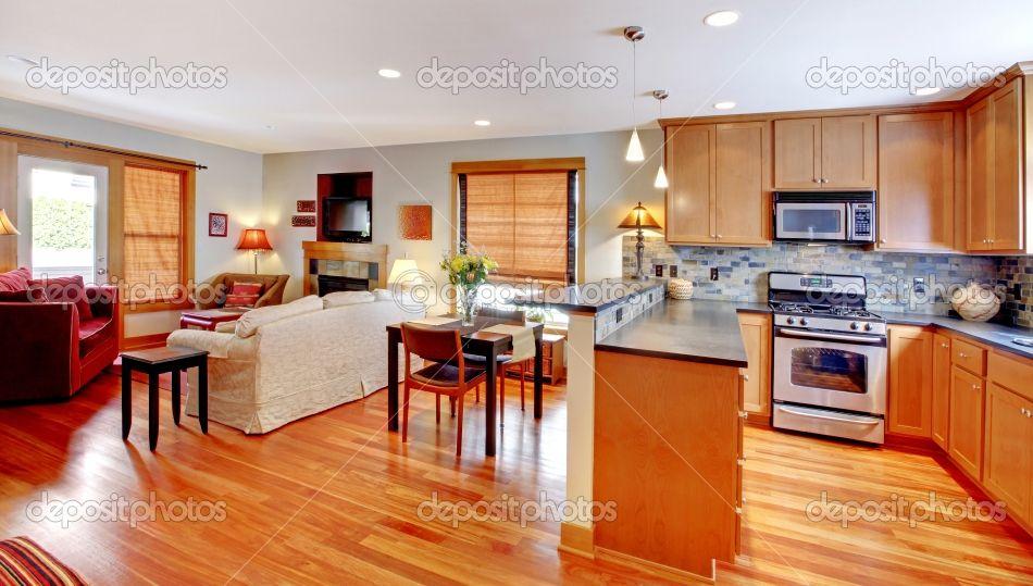 Open Kitchen And Living Room Floor Plans Kitchen Dining And Living Room Of The City H Kitchen Floor Plans Modern Kitchen Floor Plans Modern Kitchen Flooring