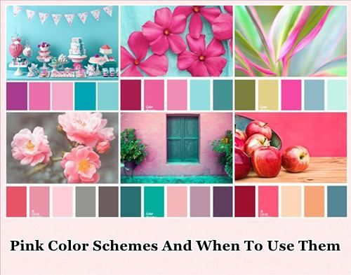 Pink Color Schemes And When To Use Them Just About It