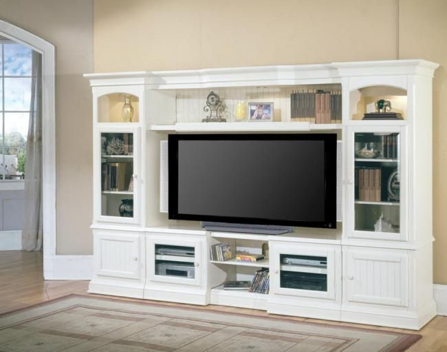 Exceptionnel Hartford Wall Unit | Style: Beach Cottage Finish: Vintage White