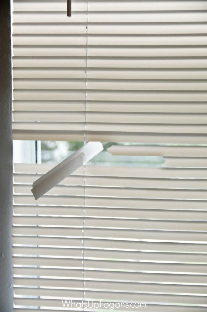 How To Fix Mini Blinds.How To Fix The Mini Blinds Your Kids Destroyed Furniture