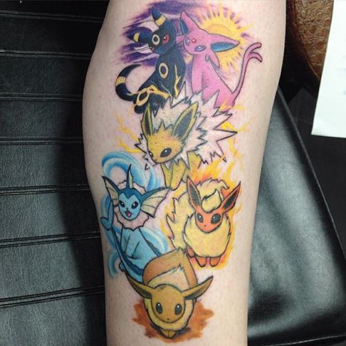eevee tattoos - Google Search
