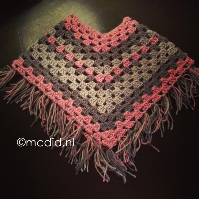 Kid Poncho Crochet Kinder Poncho Haken Inclusief Duidelijke Uitleg