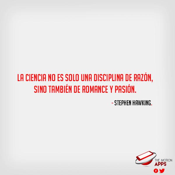 #Ciencia #Frases que inspiran #StephenHawking