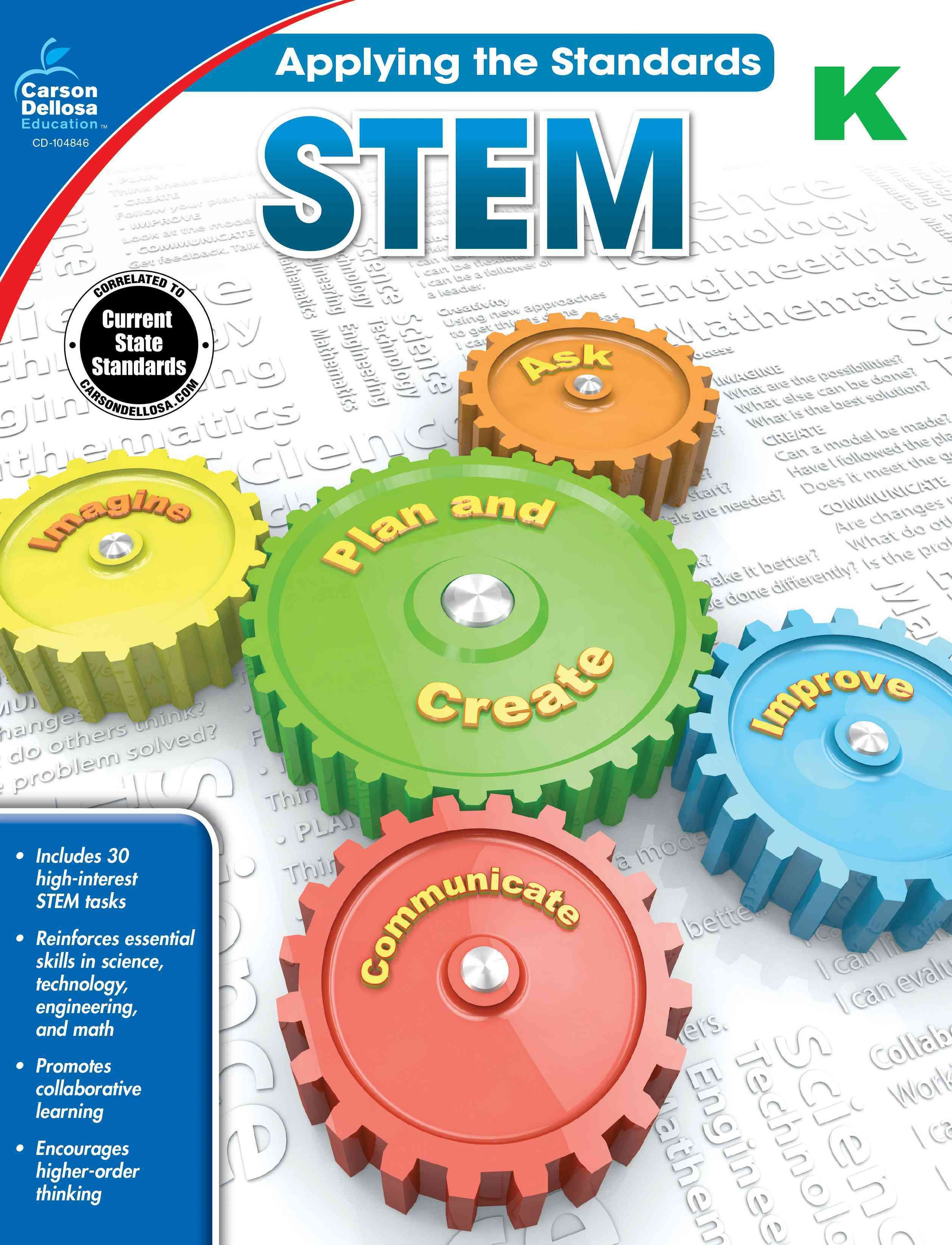 Applying The Standards Stem K Paperback Overstock Com Shopping The Best Deals On Education Teaching Stem Activities Stem Science Carson Dellosa