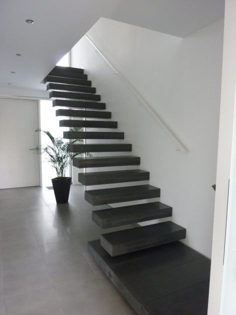 betontreppen ein blickfang im haus moderne treppe beton design und treppe. Black Bedroom Furniture Sets. Home Design Ideas
