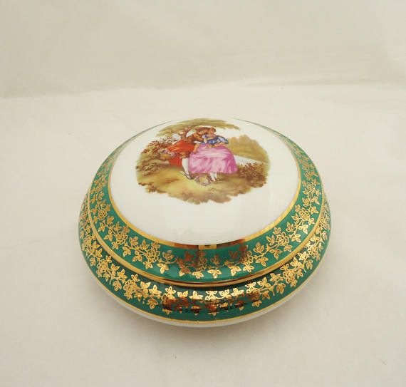 Your Place To Buy And Sell All Things Handmade Trinket Boxes Trinket Limoges