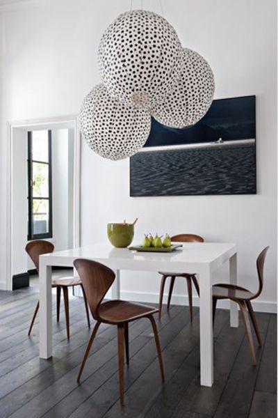 Sol Bois Brut Table A Manger Carré Blanche Chaises Bois Vintage - Table a manger carree blanche pour idees de deco de cuisine