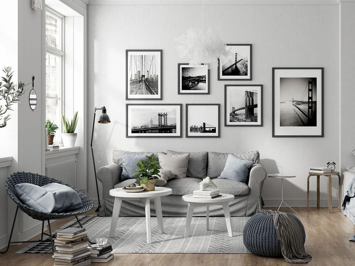 Come appendere i quadri in modo originale (con immagini