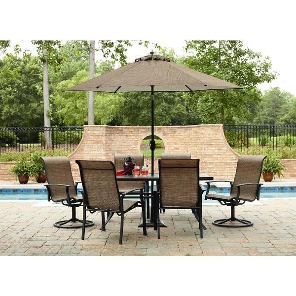 Garden Oasis Harrison 7 Piece Dining Set. Outdoor Living PatiosOutdoor  Dining SetPatio ...
