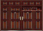 Wood door 4 doors wing edis 144- Wood grain doors 4 edis …