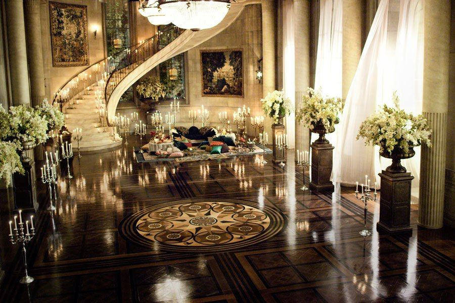Tour the sets of 12 years a slave american hustle Great gatsby house tour