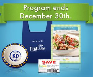 Redeem Your Kraft First Taste Rewards http://free.ca/rewards/kraft-first-taste-program-ends/