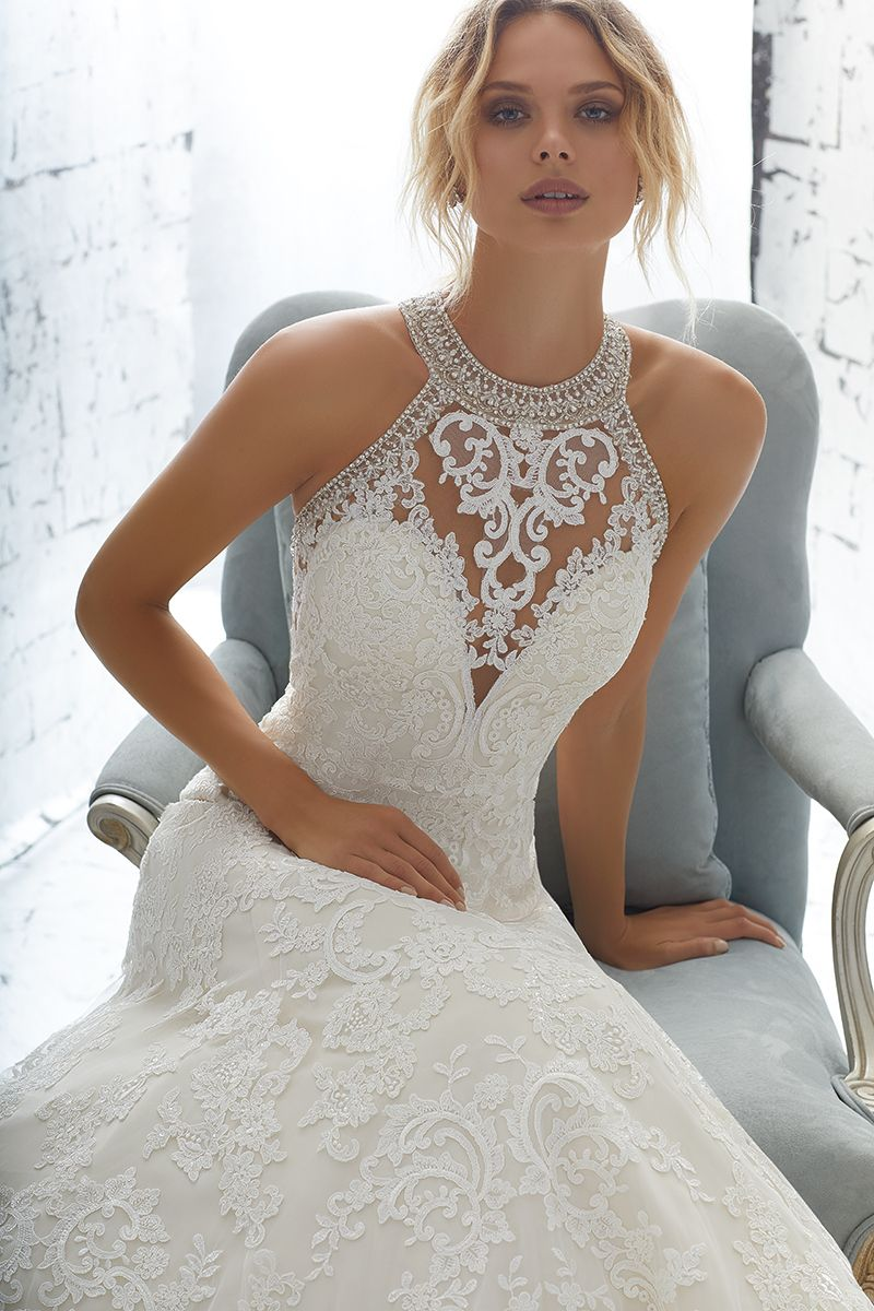 Wedding dress out of morilee by madeline gardner silhouette
