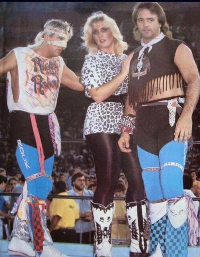 Rock N Roll Express And Baby Doll Pro Wrestling From The 1970s And