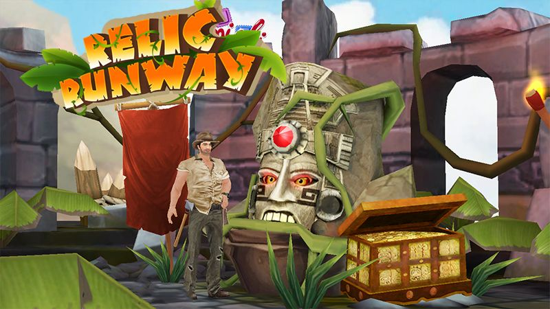 Relic Runway Game Is Similar To The Familiar Temple Run Game Here