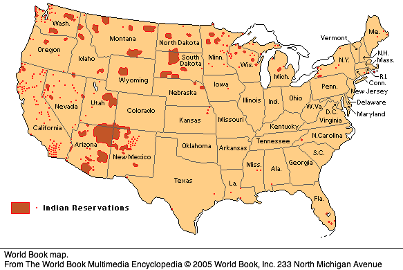 Map Of The US Native Americans Until 1911 Maps Of Native American