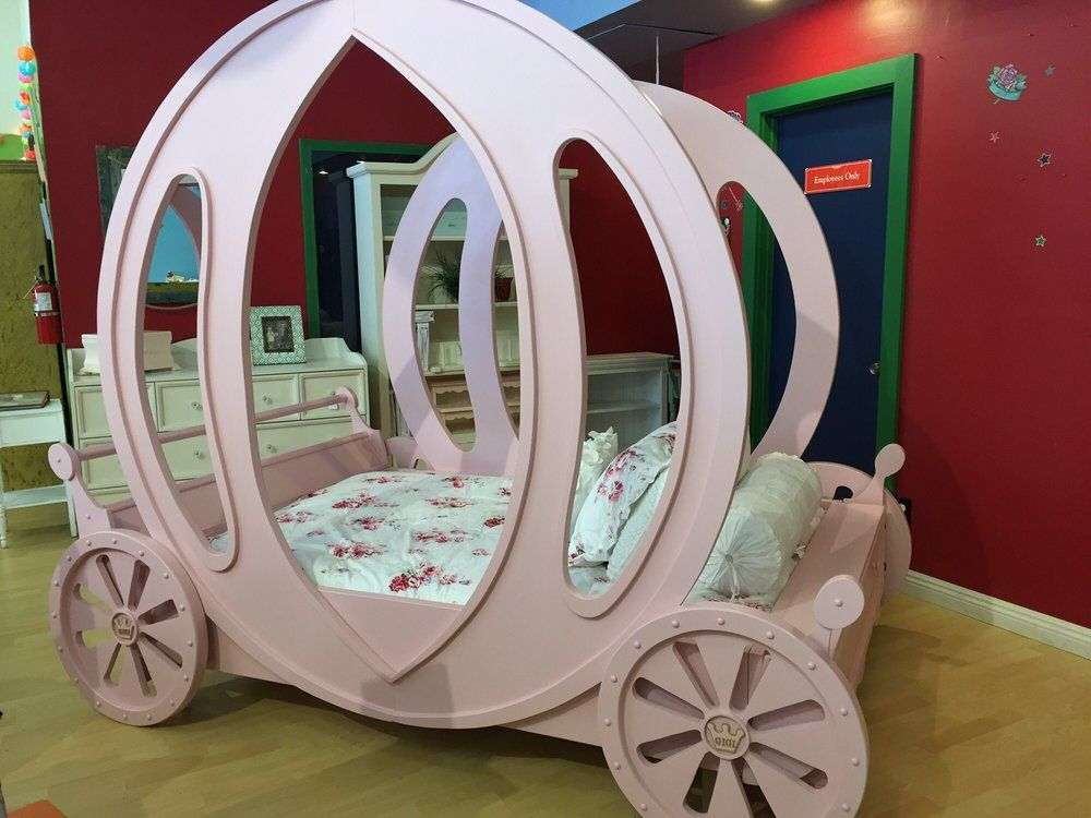 Kids Cottage Furniture   Sherman Oaks, CA, United States. Custom Carriage  Bed Hand Crafted Solid Wood