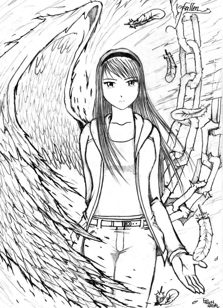 Anime fallen angel drawing google search stuff to do anime fallen angel drawing google search thecheapjerseys Choice Image