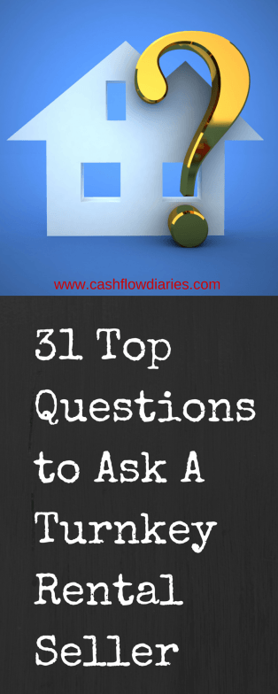 31 Questions to ask a Turnkey Seller before buying | Cash