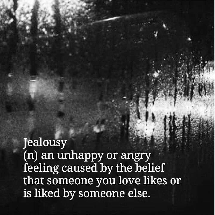 together of Jealousy being lack or
