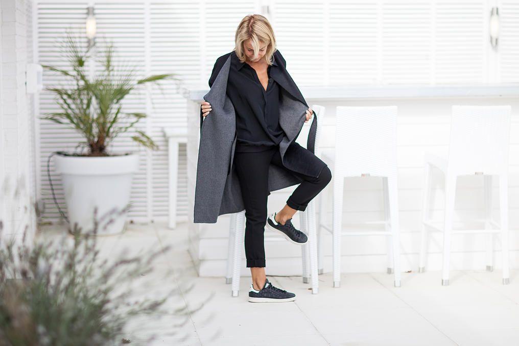 Manteau peignoir gris