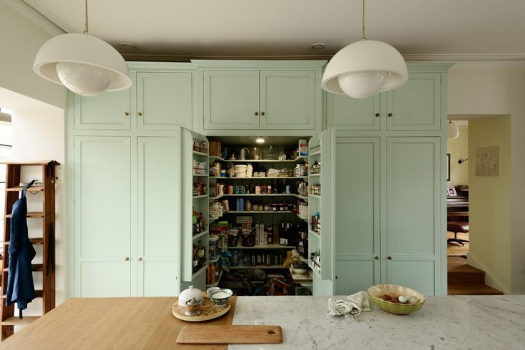 deVOL kitchen with extra-deep pantry cupboard | Devol ...