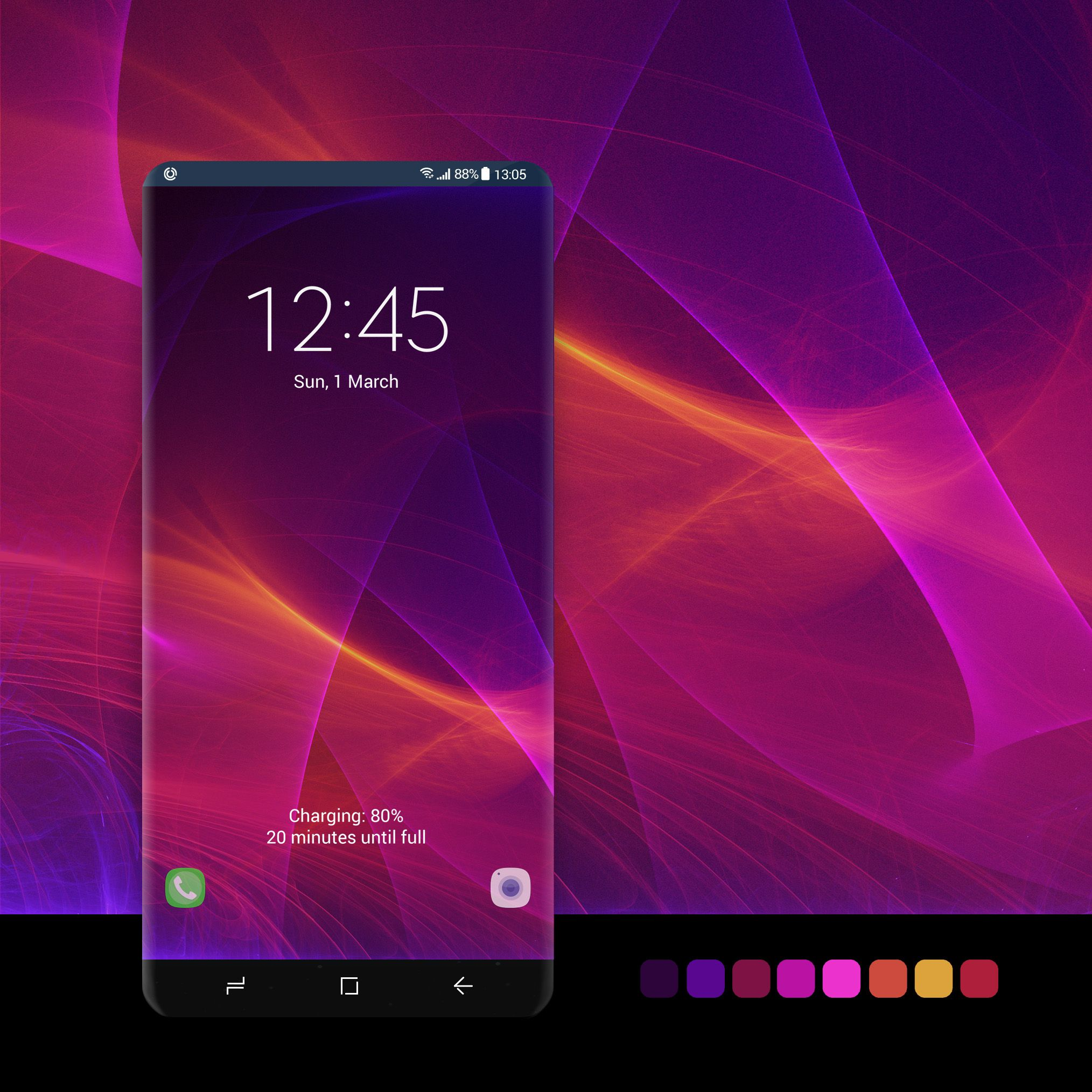 Purple Laser Abstract Wallpaper #wallpaper, #android
