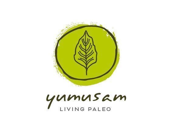 Green Leaf Logo, Green Logo Design, Organic Logo