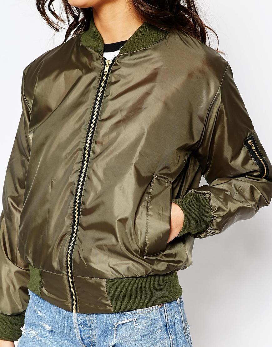 497527591 Reclaimed Vintage Retro Ma1 Bomber Jacket | J a c k e t | Bomber ...