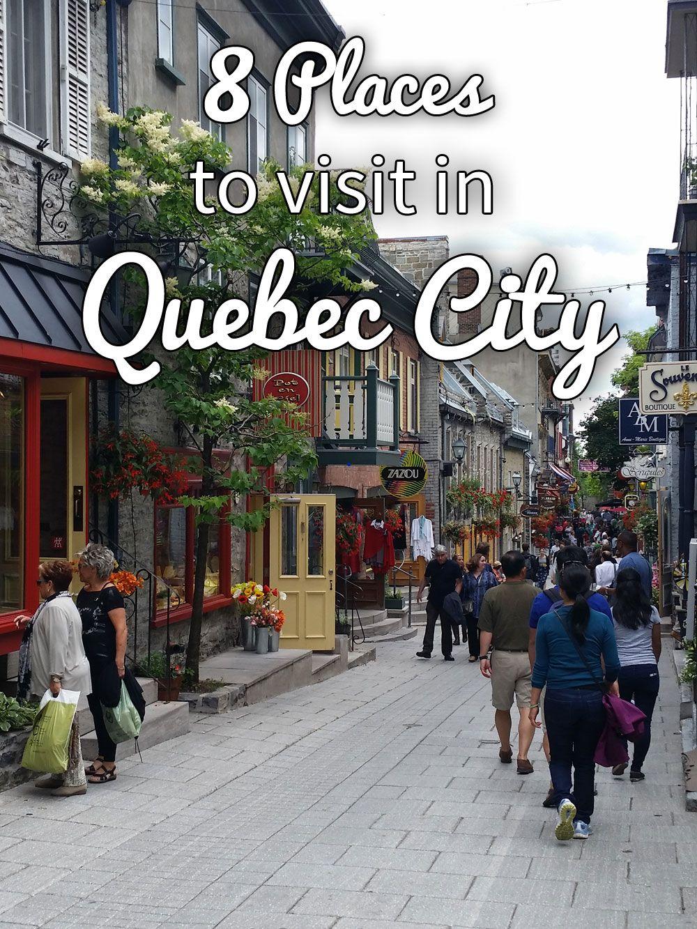 8 Places To Visit In Quebec City Kenton De Jong Travel Quebec City Canada Quebec City Winter Quebec City