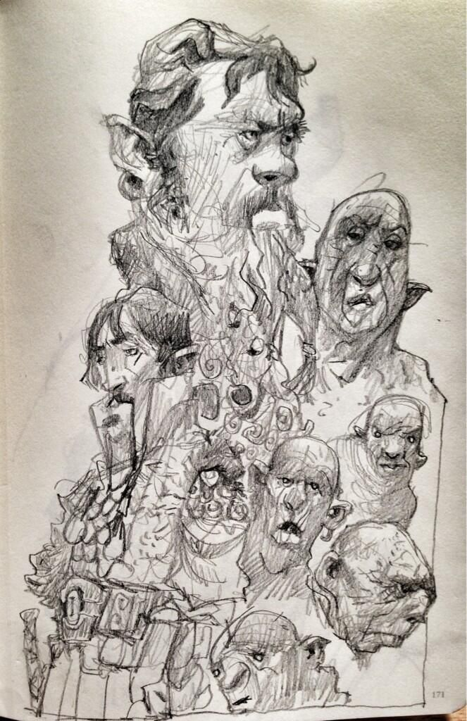 More dwarves. And orcs and trolls.