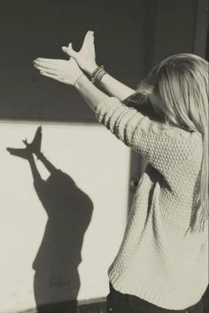 There's something about...shadow puppets.