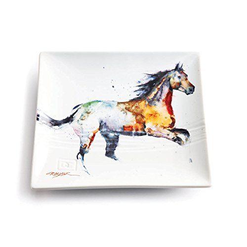 Dean Crouser Running Horse Stoneware Snack Plate Big Sky ... https://www.amazon.com/dp/B00JWN37AG/ref=cm_sw_r_pi_dp_p58Hxb492NXSJ