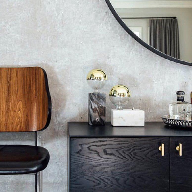 A Cozy Bar Area Featuring Custom Croft House Furniture In Carmel
