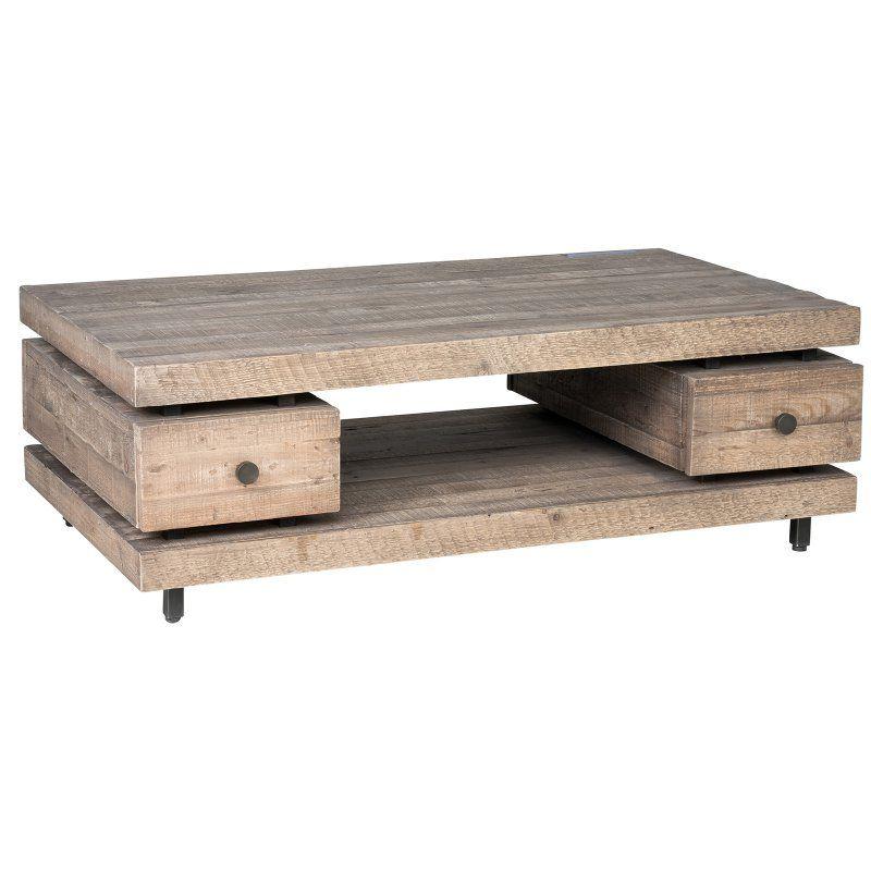 Kosas Home Palmer Reclaimed Pine Coffee Table - 51030234 ...